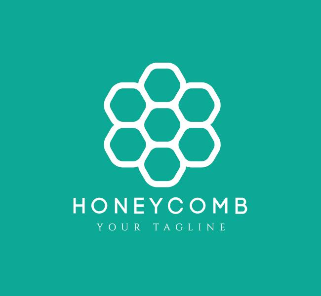 041-Honeycomb-Logo-Template_W