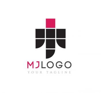 MJ Logo & Business Card Template