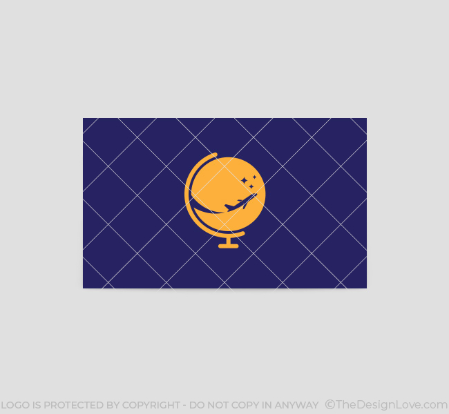 043-Globe-Travel-Logo-&-Business-Card-Template-Back