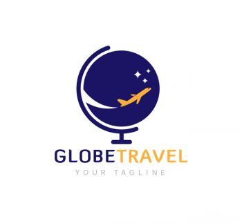 Globe Travel Logo & Business Card Template