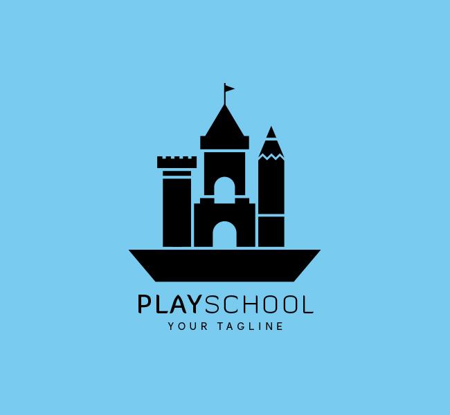 045--Play-School-Logo-Template_B