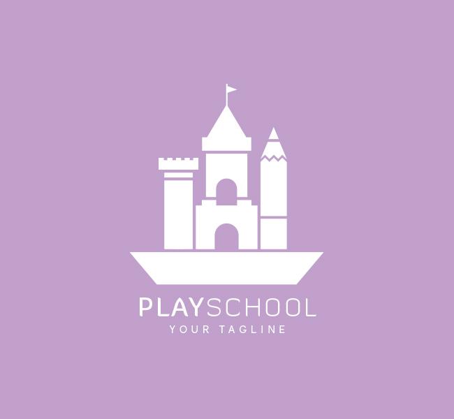 045-Play-School-Logo-Template_W
