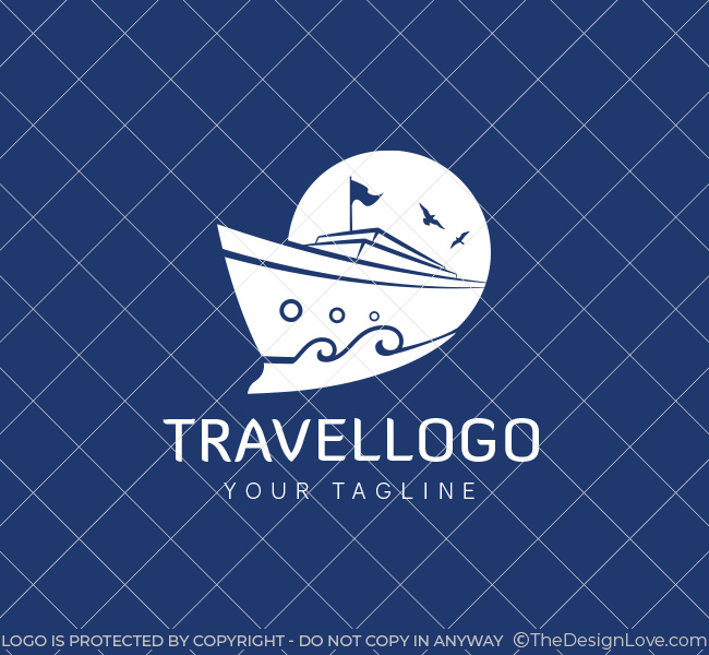 Travel Agency Logo Amp Business Card Template The Design Love