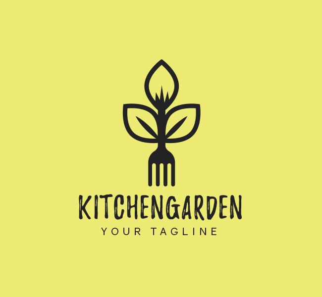 047-Kitchen-Garden-Logo-Template_B
