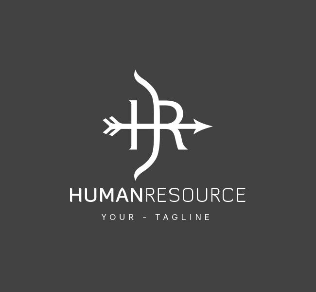Hr Logo Amp Business Card Template The Design Love