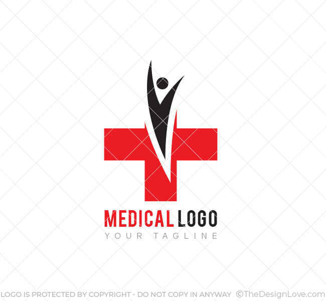 Medical Logo Amp Business Card Template The Design Love