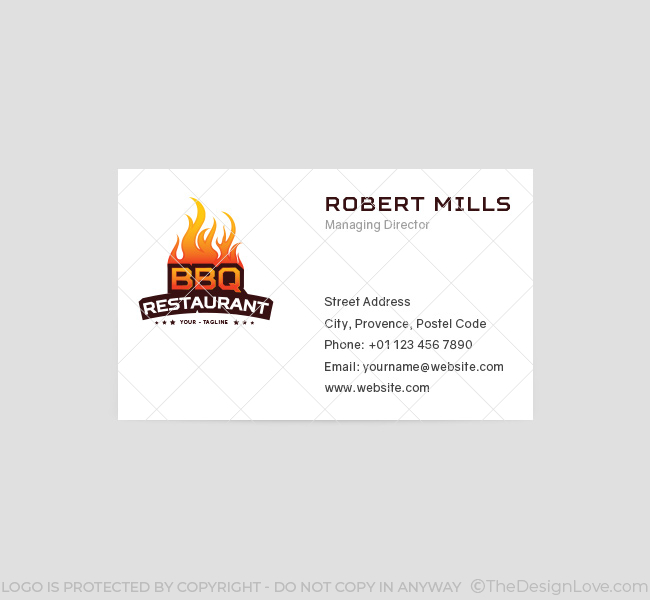 051-BBQ-Restaurant-Logo-&-Business-Card-Template-Front