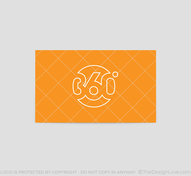360 degree logo business card template the design love 052 360 degree logo business card template reheart Choice Image