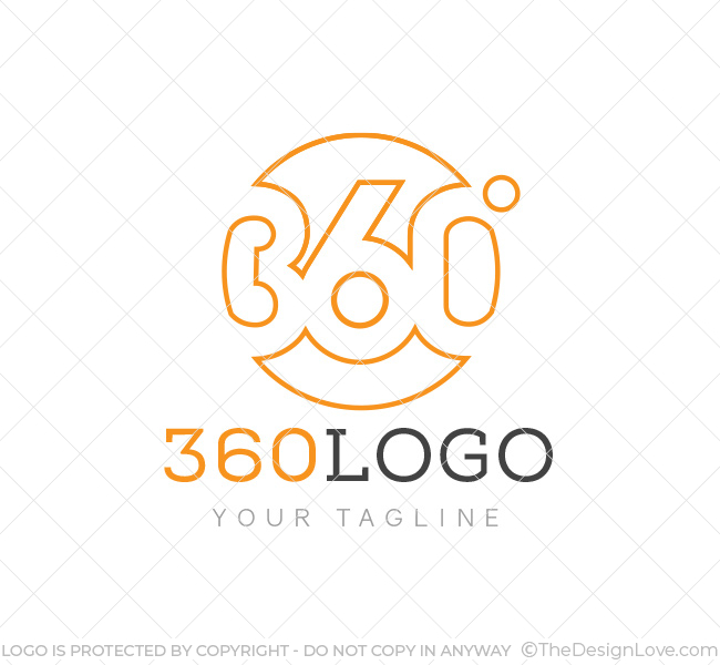 360 degree logo business card template the design love 360 degree logo reheart Image collections