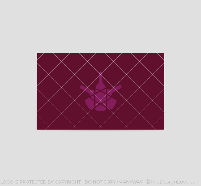 053-Purple-Star-Wine-Logo-&-Business-Card-Template-Back