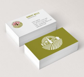 054 Wine Touring Logo-&-Business-Card-Template
