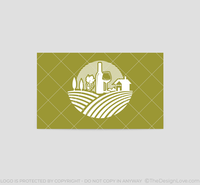 054 Wine Touring Logo-&-Business-Card-Template-Back