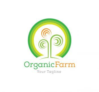 Organic Farming Logo & Business Card Template