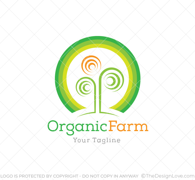 organic farming logo business card template the design love