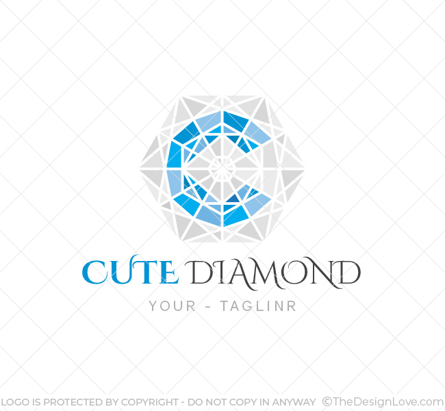 Diamond Logo Amp Business Card Template The Design Love
