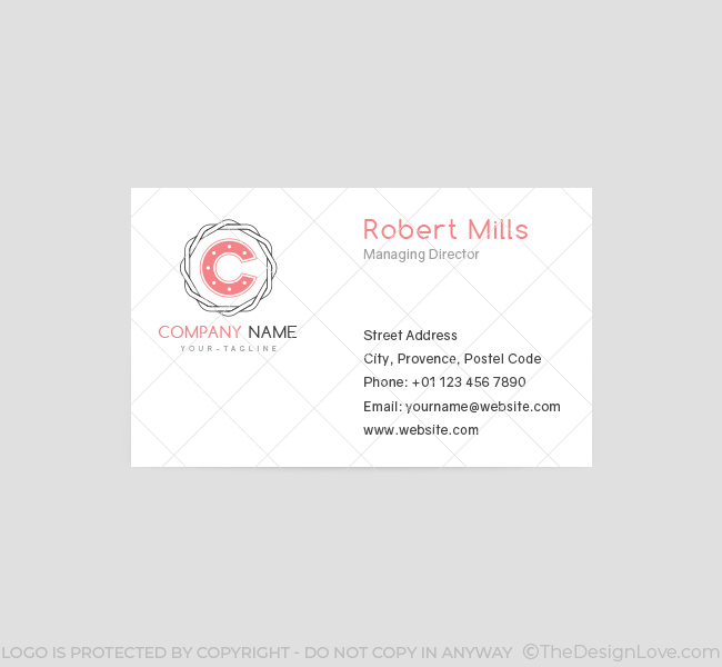 059-Letter-C-Logo-&-Business-Card-Template-Front