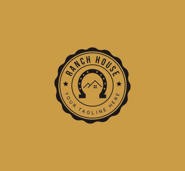 060-Ranch-House-Logo-Template_B