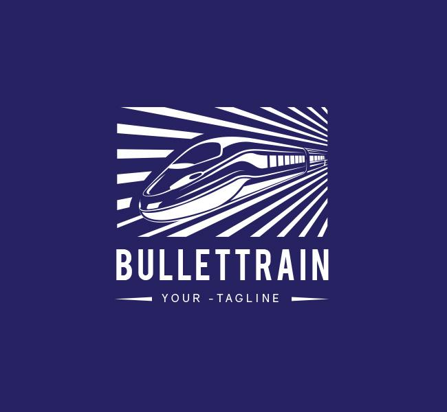063-Bullet-Train-Logo-Template_W