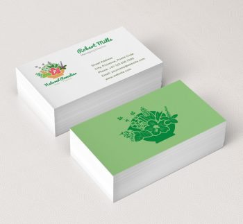 066-Naturial-Remedies-Logo-&-Business-Card-Template