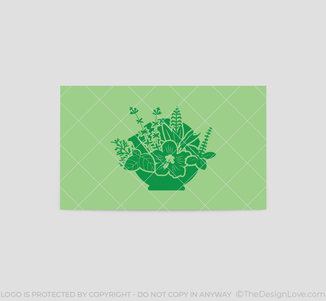 066-Naturial-Remedies-Logo-&-Business-Card-Template-Back