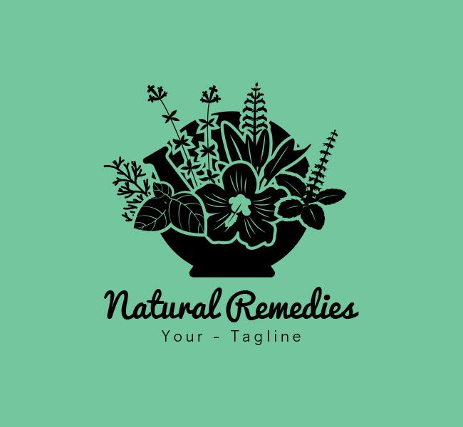 066-Naturial-Remedies-Logo-Template_B