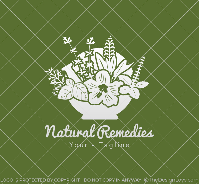 066-Naturial-Remedies-Logo-Template_W