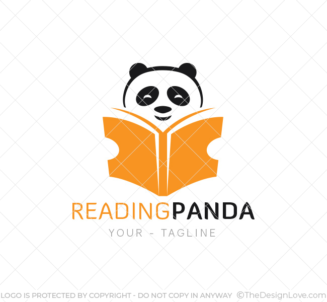 Reading Panda Logo Amp Business Card Template The Design Love