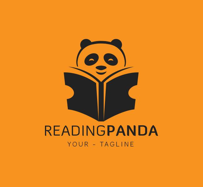 067-Reading-Panda-Logo-Template_B