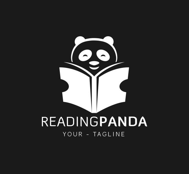 067-Reading-Panda-Logo-Template_W