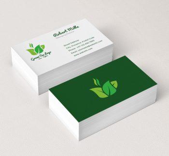 068-Green-Tea-Logo-&-Business-Card-Template