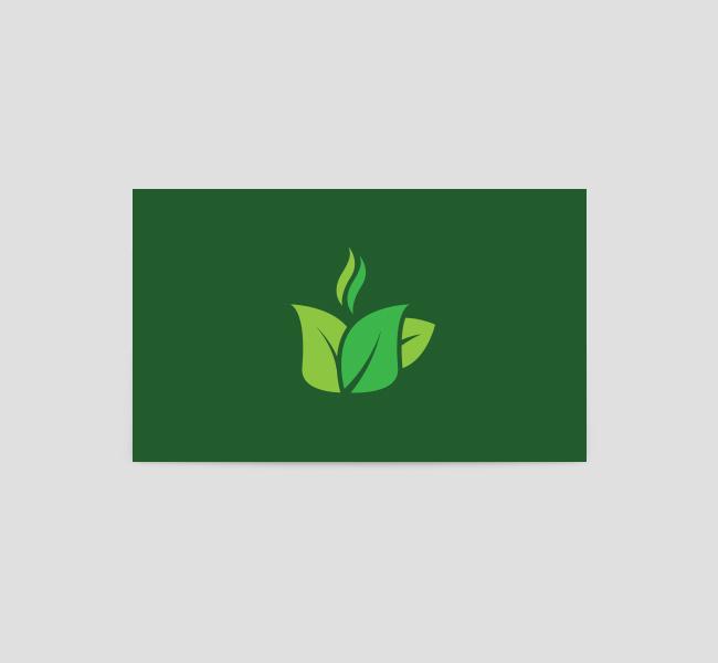 068-Green-Tea-Logo-&-Business-Card-Template-Back
