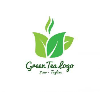 Green Tea Logo & Business Card Template
