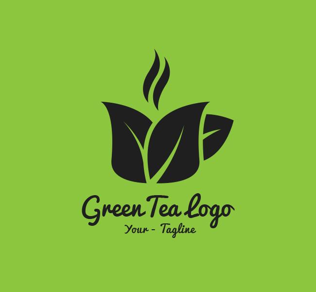 068-Green-Tea-Logo-Template_B