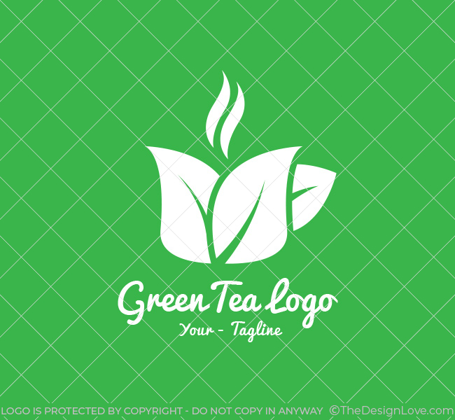 068-Green-Tea-Logo-Template_W