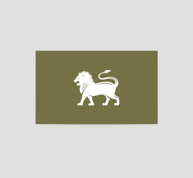 068-Lion-Mascot-Logo-&-Business-Card-Template-Back