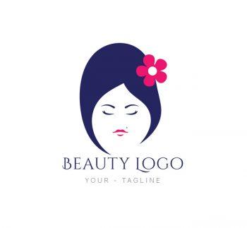 Beauty Salon Logo & Business Card Template