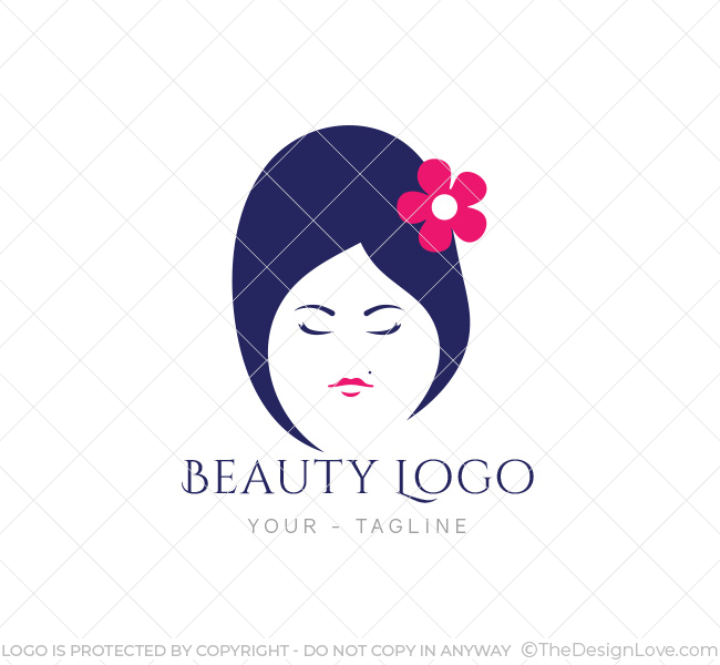 Beauty salon logo business card template the design love beauty salon logo altavistaventures Images