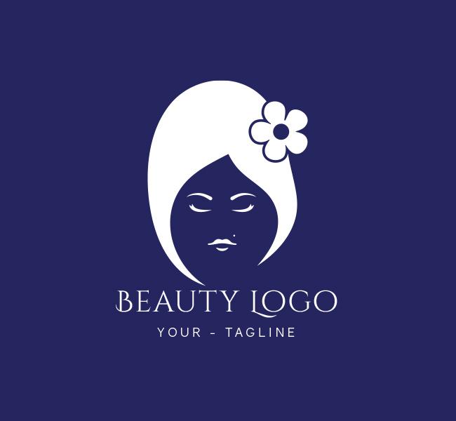 beauty salon logo business card template the design love