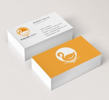 073-The-Swan-Logo-&-Business-Card-Template