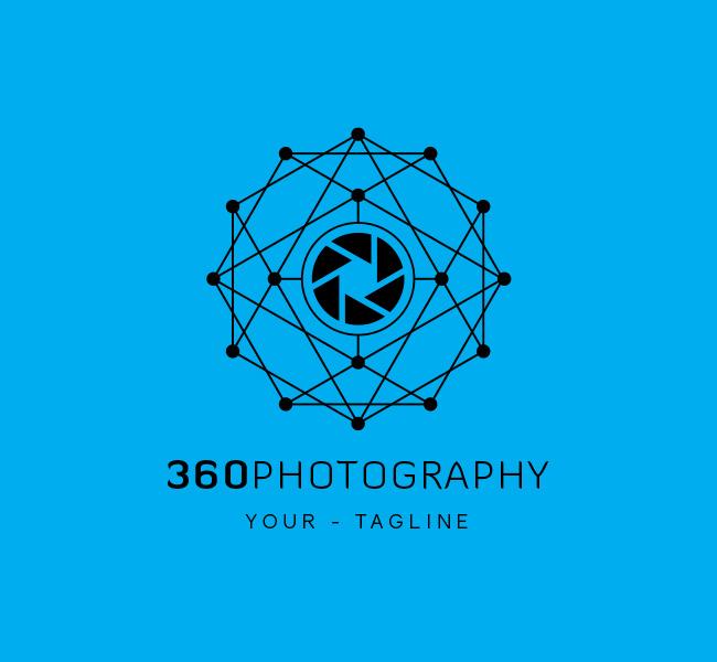 Pre-made 360 Photography Logo