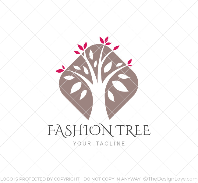 Fashion Tree Logo & Business Card Template - The Design Love