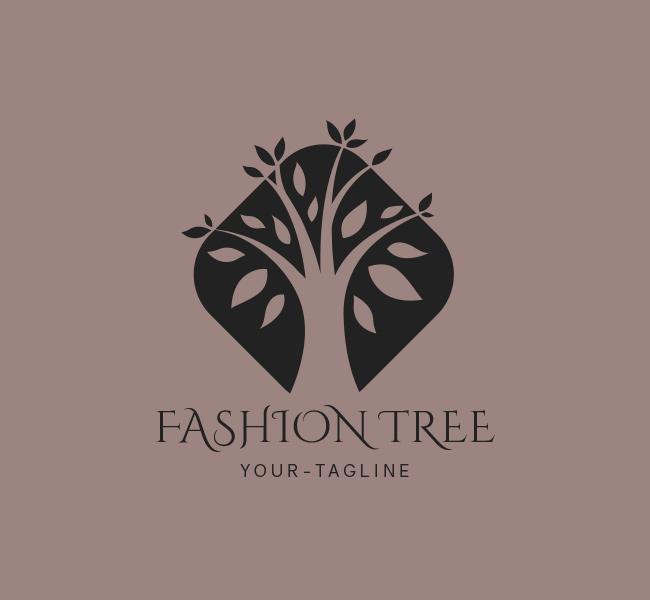 075-Fashion-Tree-Logo-Template_B