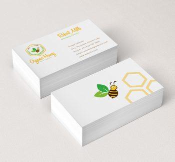 080-Organic-Honey-Business-Card