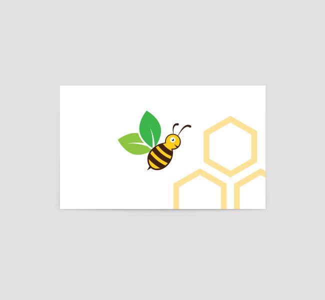 080-Organic-Honey-Business-Card-Template-Back