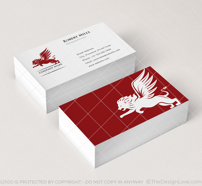 Winged-Lion-Business-Card