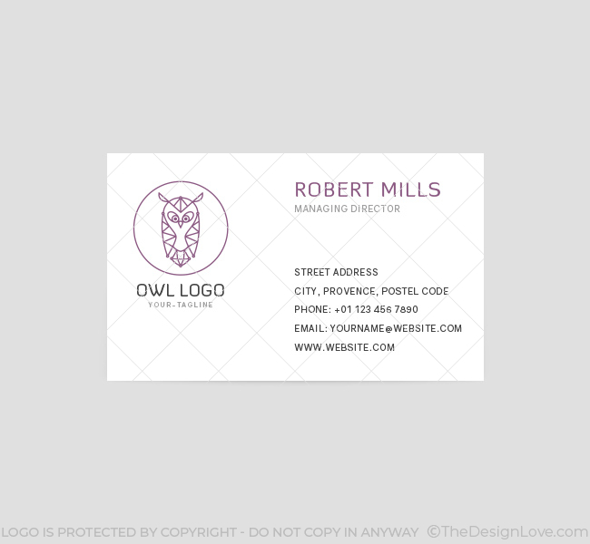 The-Owl-Business-Card-Template-Front