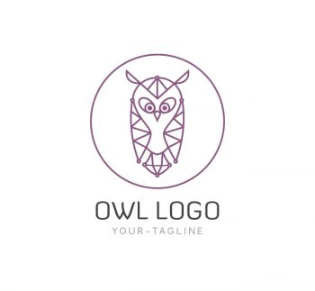 The Owl Logo & Business Card Template