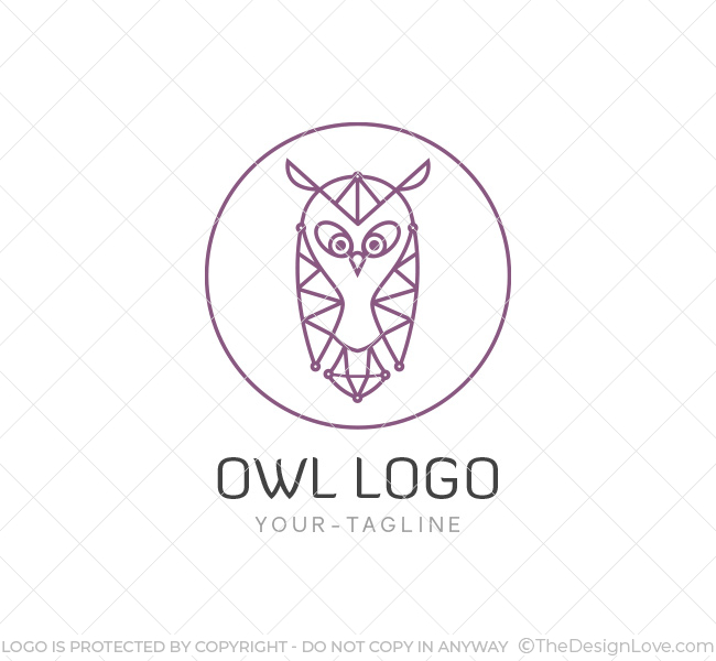 The owl logo business card template the design love the owl logo accmission Gallery