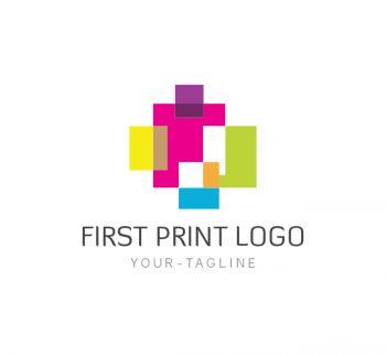 First Print Logo & Business Card Template