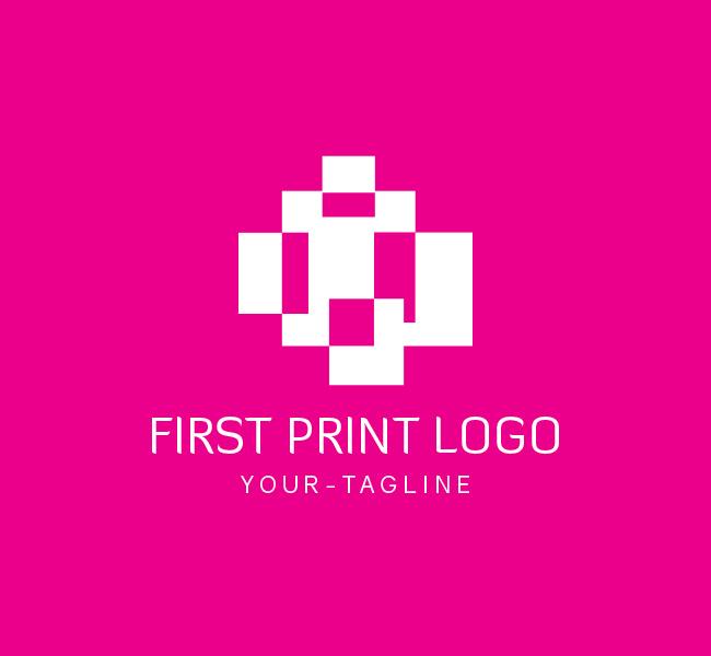 082-First-Print-Logo-Template_W